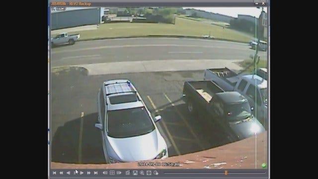 Police Seek Suspect In Auto Burglary In SE OKC