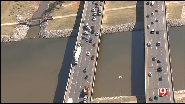 Emergency Crews Respond To Crash At I-44 And I-40