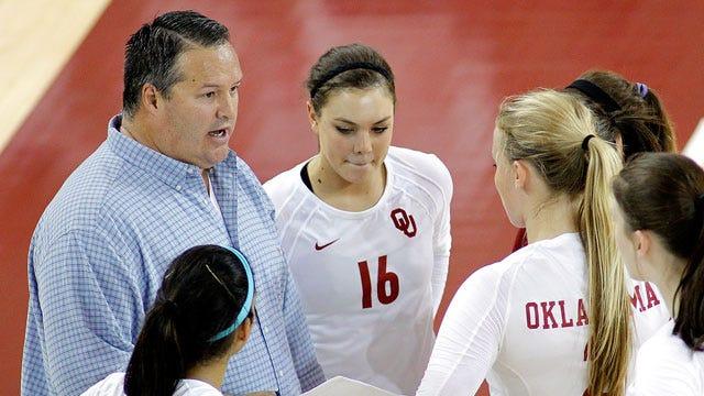 OU Volleyball Rallies Past No. 23 Kansas
