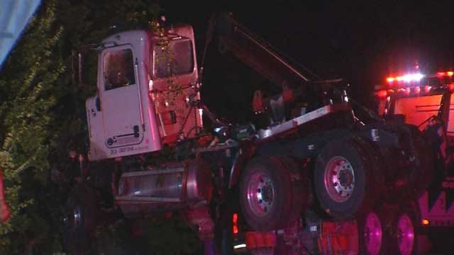 Police: Truck Driver Says Distracted Before Crash