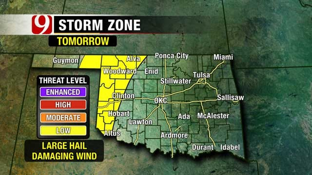 Summer-Like Weather Clings To Oklahoma Ahead Of Cold Front