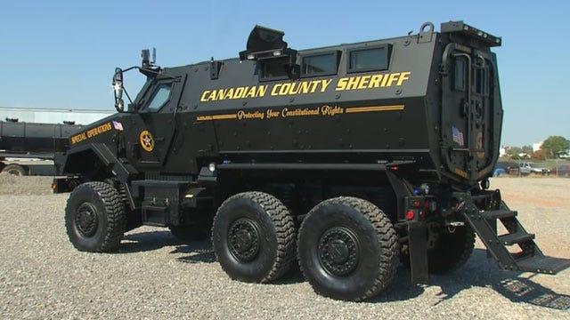 OK Sheriffs Upset Over Senator's Proposed Military Surplus Bill