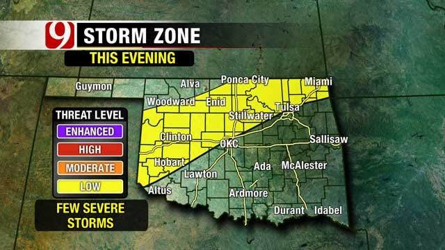 Cooler Temperatures Return To Oklahoma For The Weekend