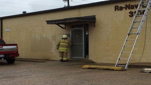 Crews Contain Chemical Spill In NW OKC