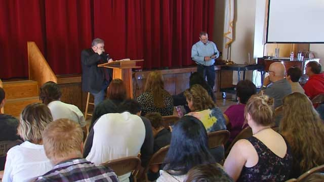 Congregation Rejoices One Day After Fire Destroys El Reno Church