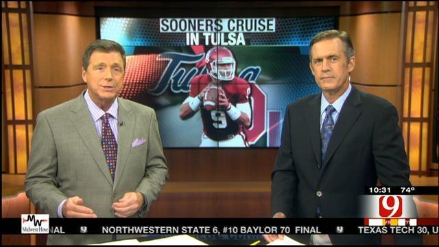Oklahoma Ford Sports Blitz: September 7