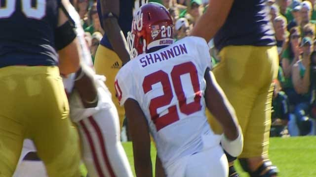 Suspension Upheld For OU's Shannon Accused Of Sexual Assault
