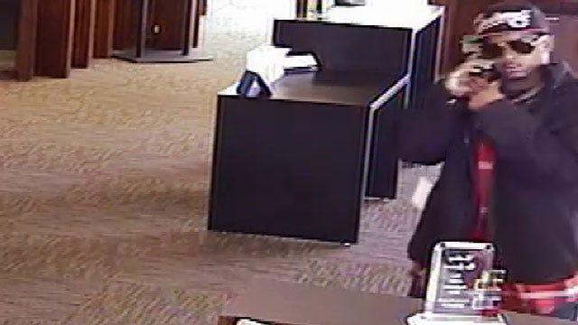 FBI Investigates Bank Robbery In Northwest OKC