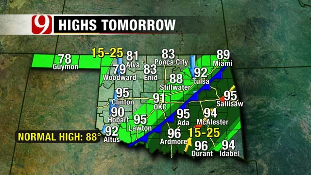 One More Hot Day, Strong Cold Front Arrives Friday