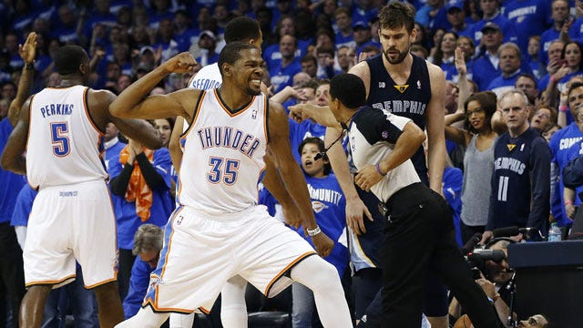 """Thunder's Durant: """"Would Love To Stick It Out With One Team My Whole Career"""""""