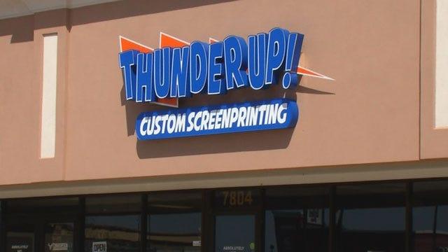 OKC Man Accused Of Selling Knockoff Thunder Shirts