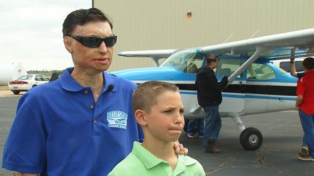 Plane Crash Survivor Opens Flight School In Guthrie