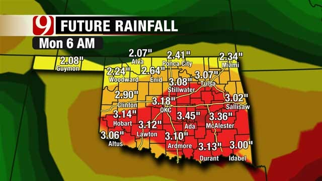 Rain Filled Week Expected For Oklahoma