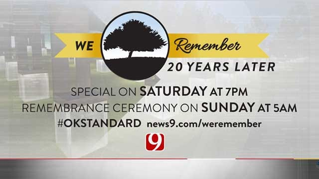 News 9's Coverage Of OKC National Memorial & Museum 20th Anniversary Ceremony