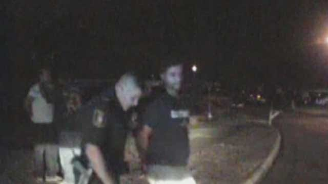 Attack On Moore Police Officer Caught On Dash Cam