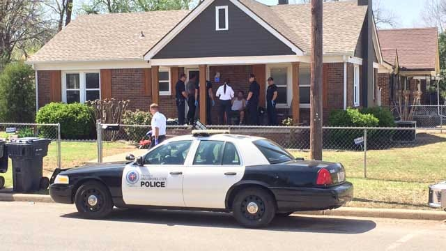 Police Investigate Shots Fired During Home Invasion In NW OKC