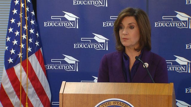 Gov. Stitt, Supt. Hofmeister Disperse $16 Million To Aid School Districts Affected By COVID-19