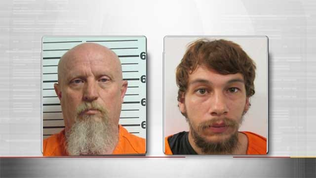 Father and Son Arrested In Connection To Mustang School Thefts
