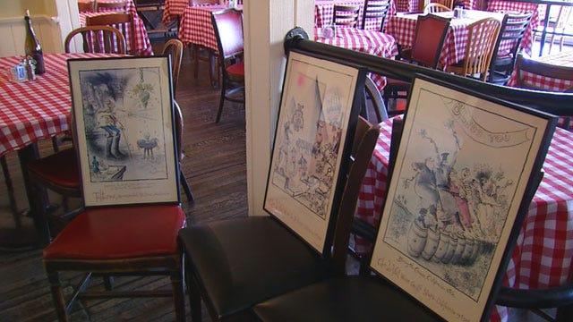 Stolen Artwork Returned To Flip's In Oklahoma City
