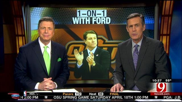 Oklahoma Ford Sports Blitz: April 5