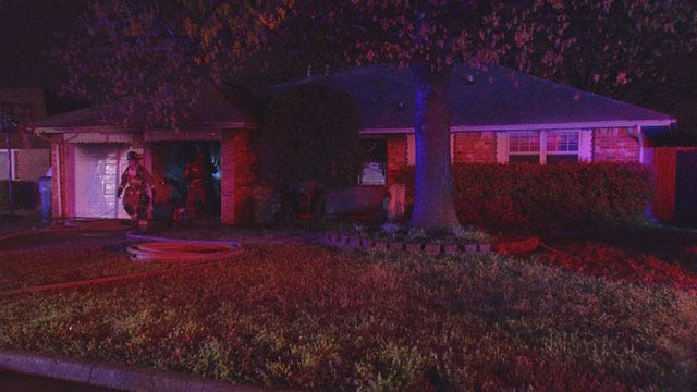 Crews Called Out To Battle Overnight House Fires In SW OKC