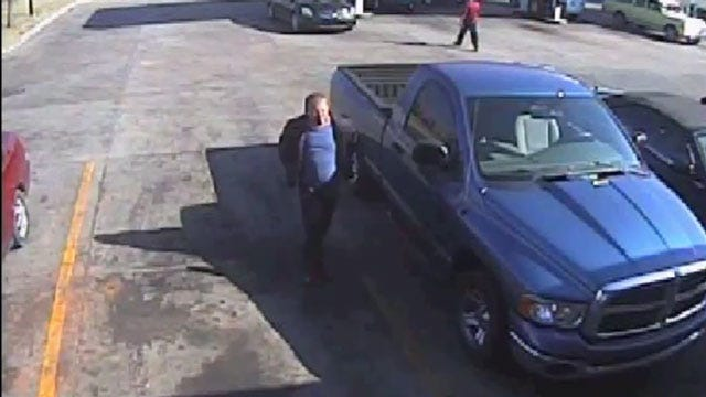 OKC Police Ask For Help Identifying Alleged Truck Thief