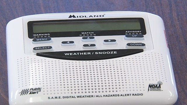 OK Company Donates Weather Radios To Every Public School Statewide