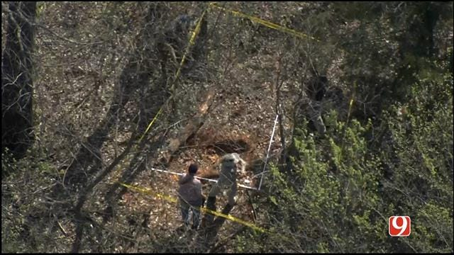 Investigators Dig For Remains In Rural Lincoln County