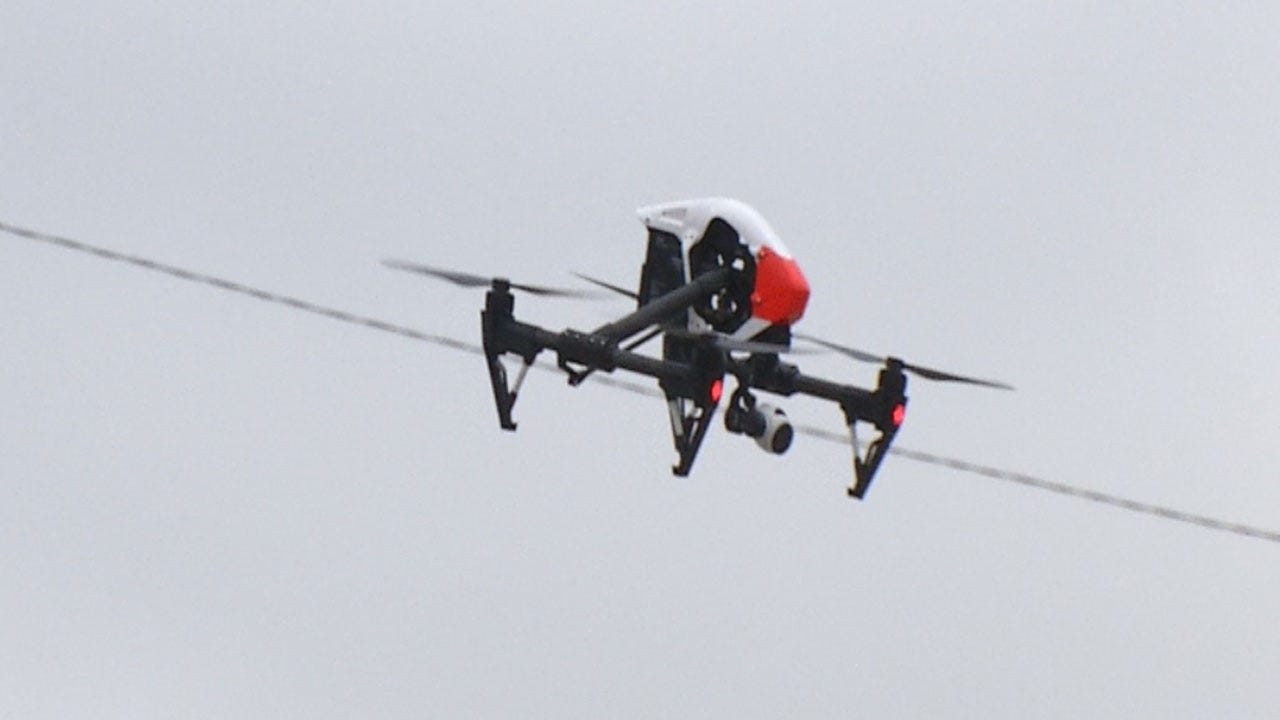 OKC Fire Department Considers Use Of Drones For Emergency Response