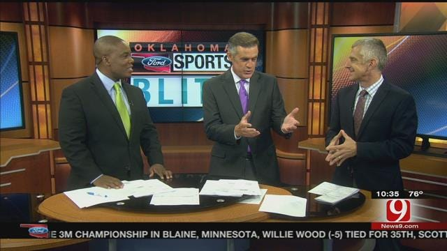 Oklahoma Ford Sports Blitz: August 2