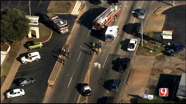 Crews Respond To Auto-Pedestrian Crash In SW OKC