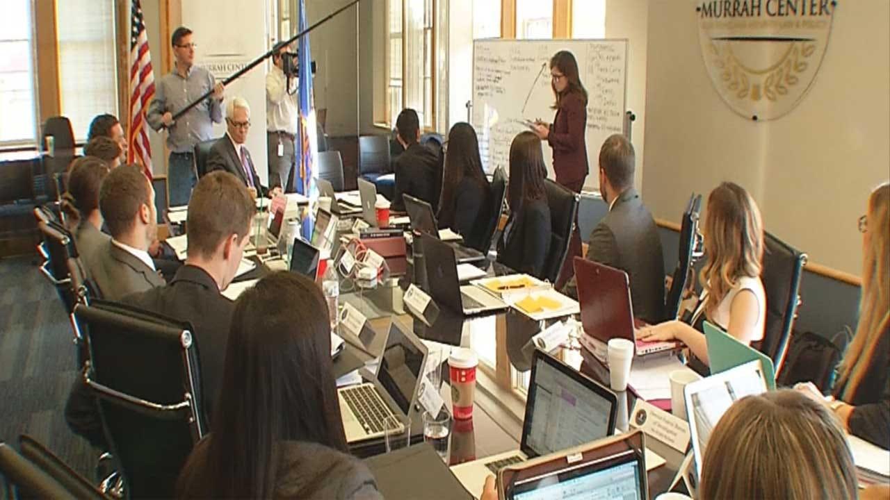 OCU Students Learn Homeland Security Law Through Mock Terrorist Attack