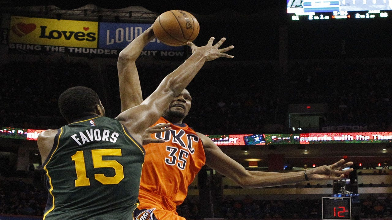 Thunder Dominate Jazz In Overtime, Win Fifth Straight