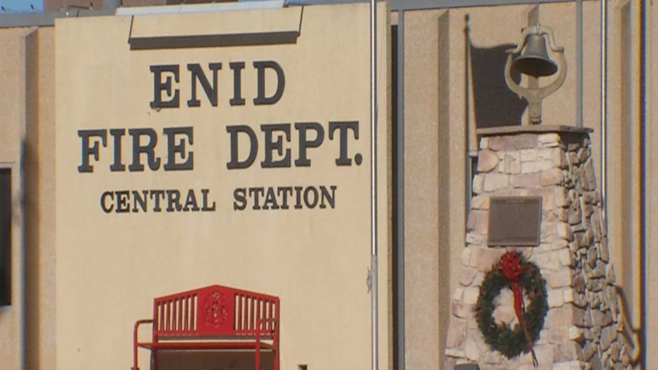 Enid Fire Captain Fired, Accused Of Pointing Laser At Airplane