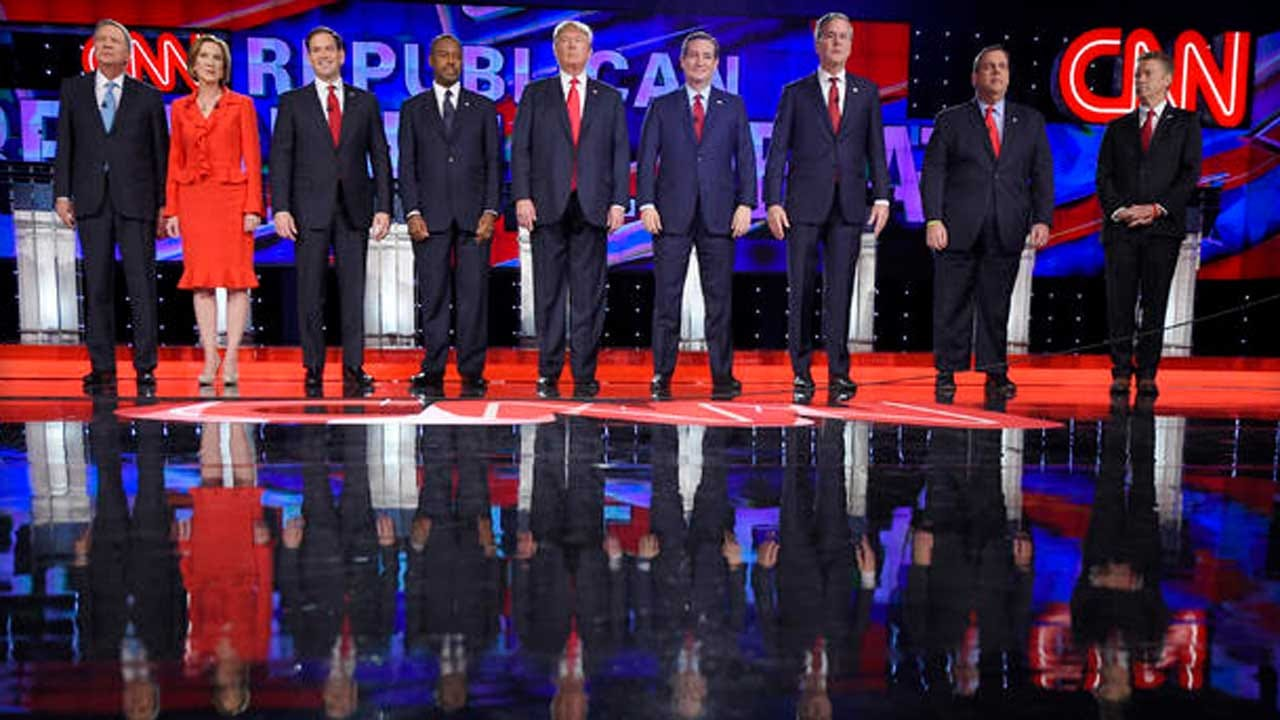 Fifth Republican Debate: Candidates Spar Over Ways To Fight ISIS