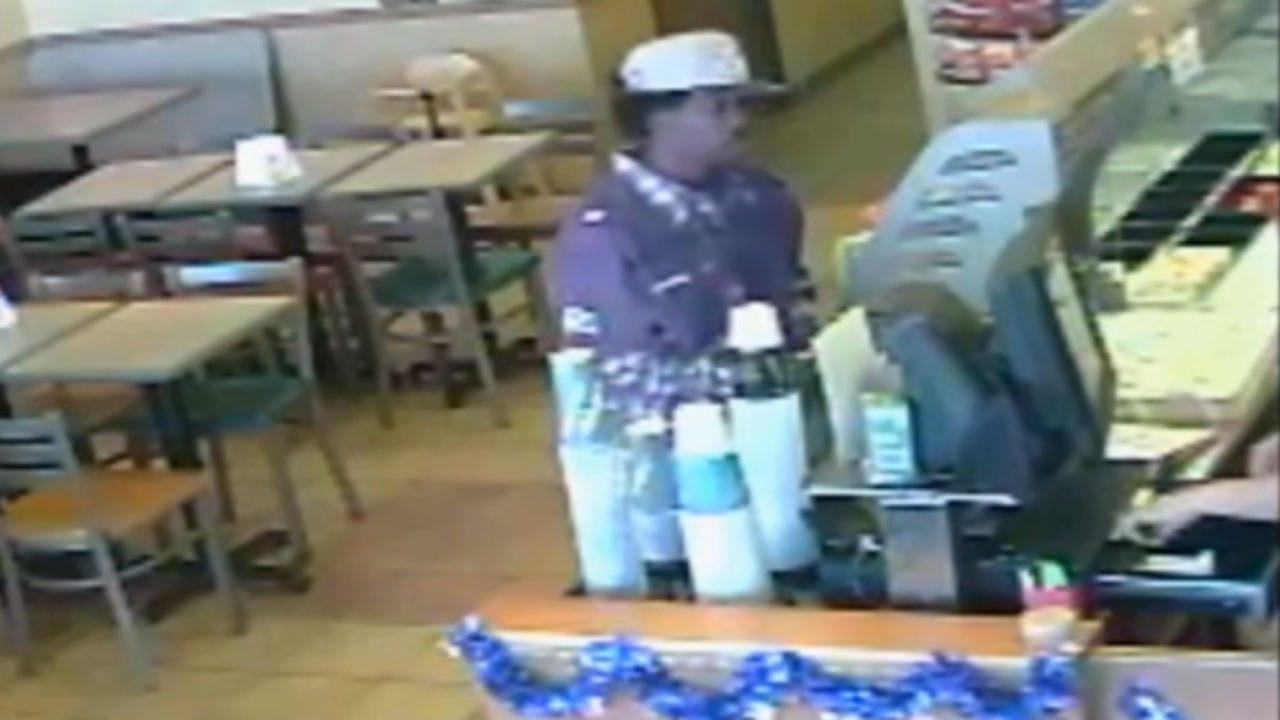 OKC Police Seek Suspect In Robbery Of Subway Restaurant