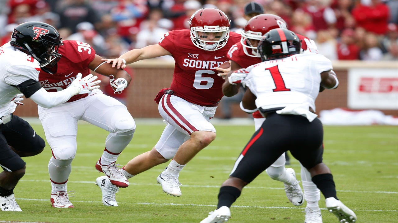 OU's Mayfield Named Sporting News POY