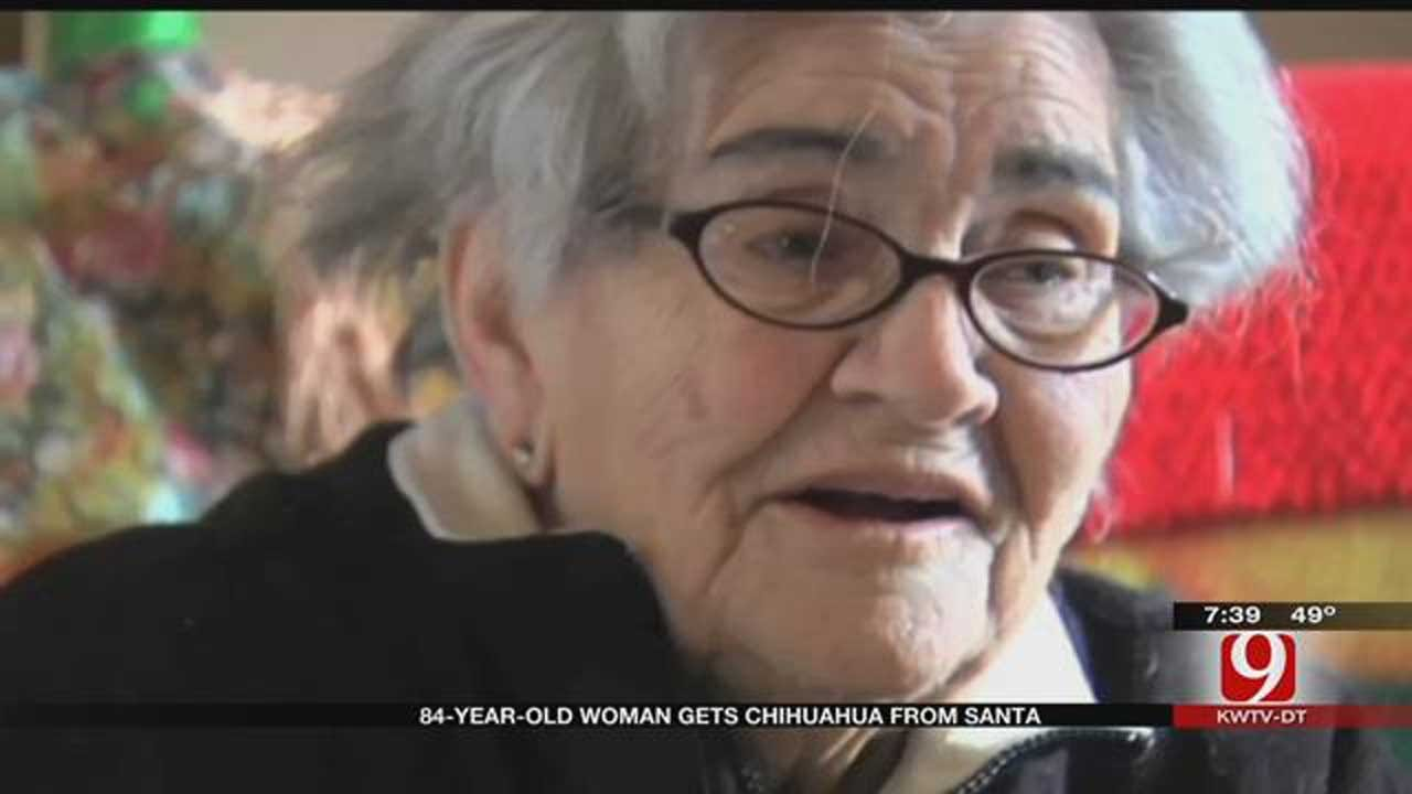 84-Year-Old Woman Gets Christmas Wish