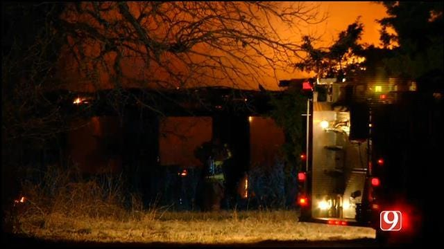 One Dead After House Fire In Logan County