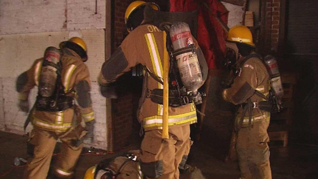 OKC Fire Department Cadets Undergo House Fire Training