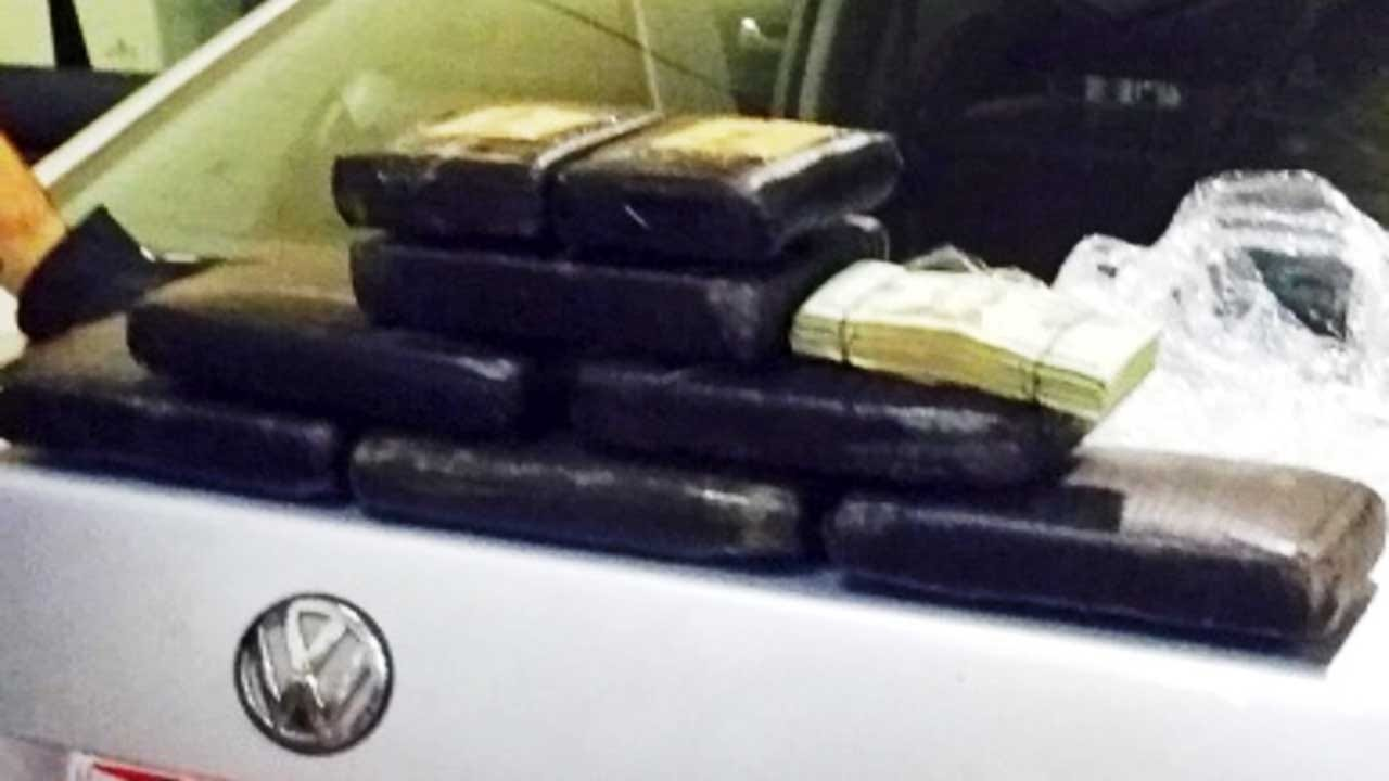 Two Arrested After 18 Pounds Of Cocaine Was Found In Vehicle