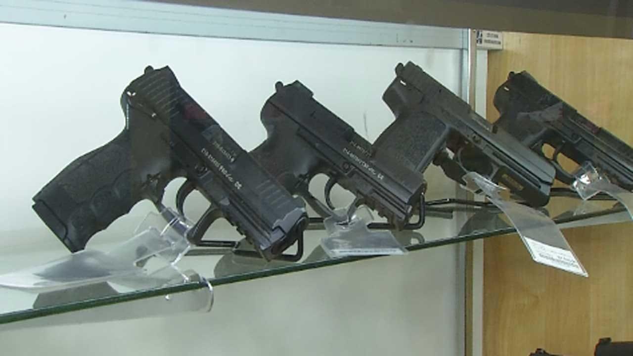Guns Topping Christmas Wish List