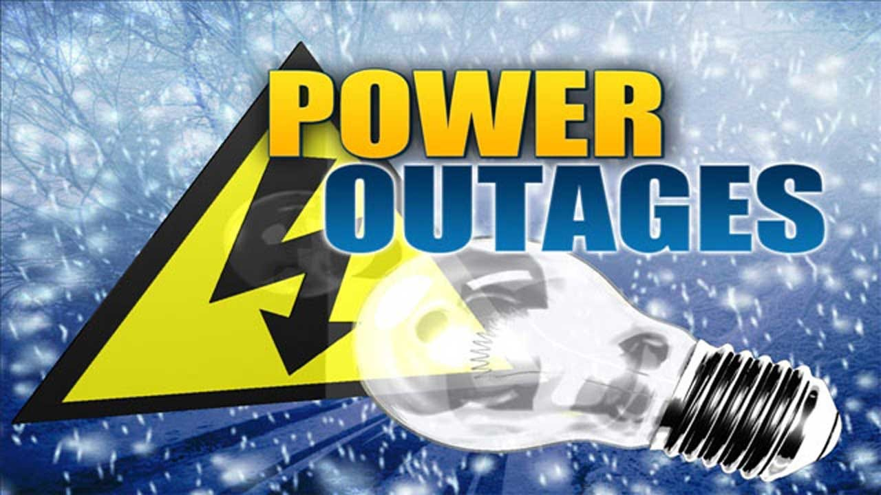 Winter Weather, Windy Conditions Cause Power Outages Across OK