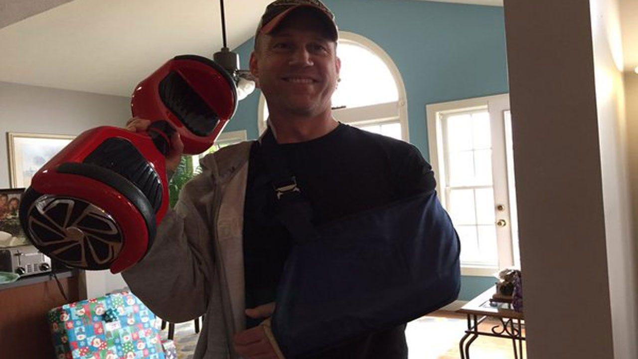 Videos Of Parents Crashing Off Hoverboards Go Viral
