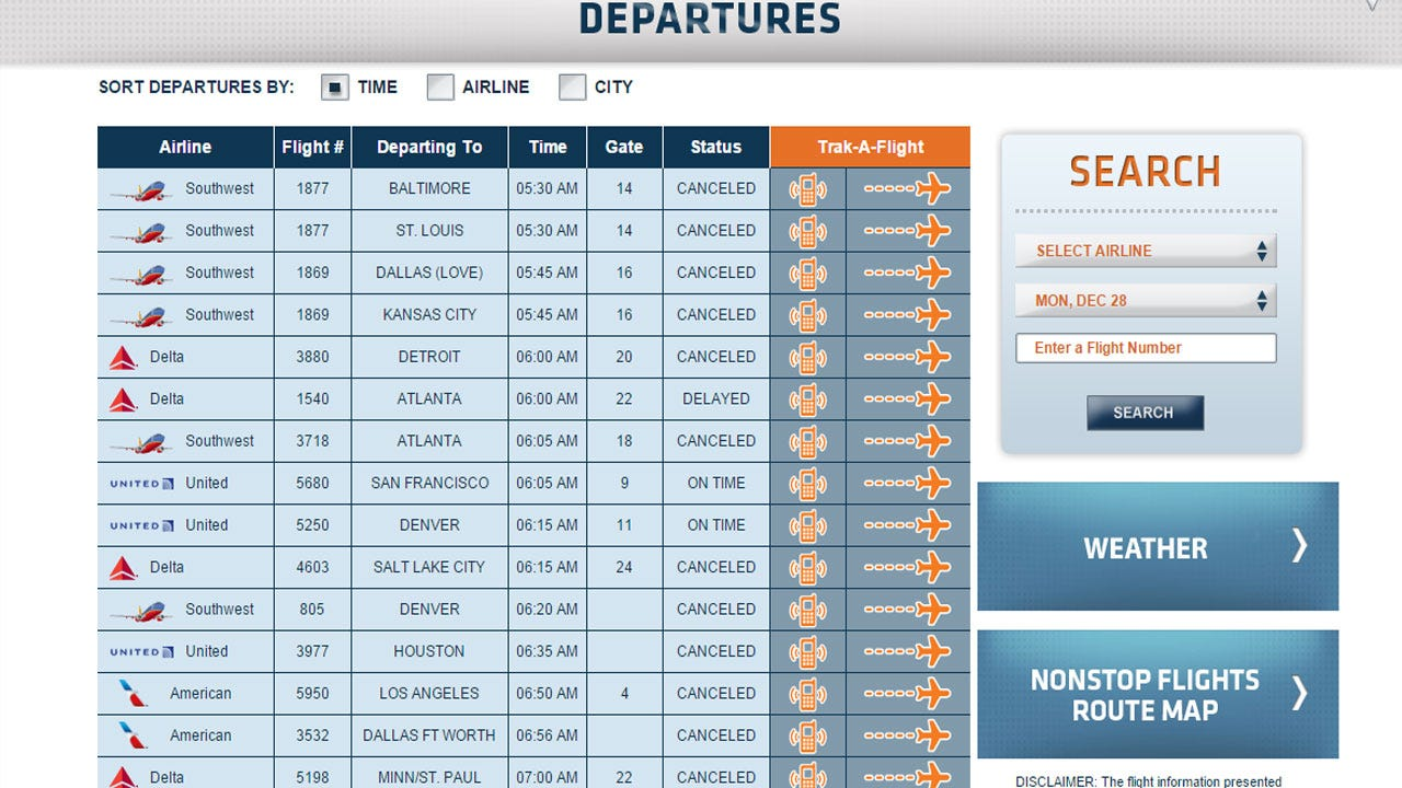 Winter Storm Continues To Delay, Cancel Flights At Will Rogers Airport
