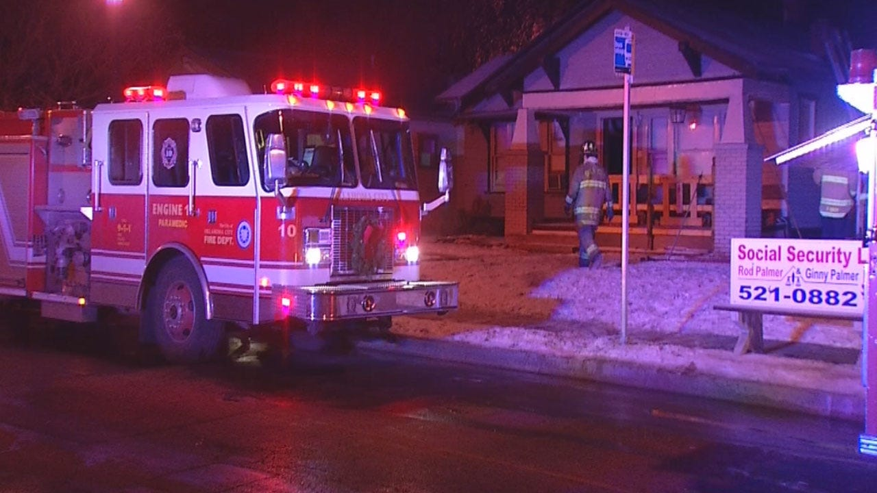 Early Morning Fire Damages Home In Northwest OKC