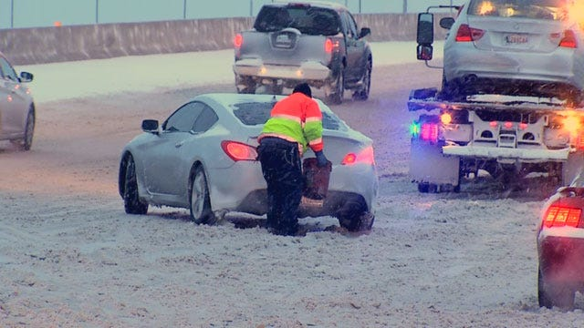 ODOT Updated Road Conditions Across Oklahoma