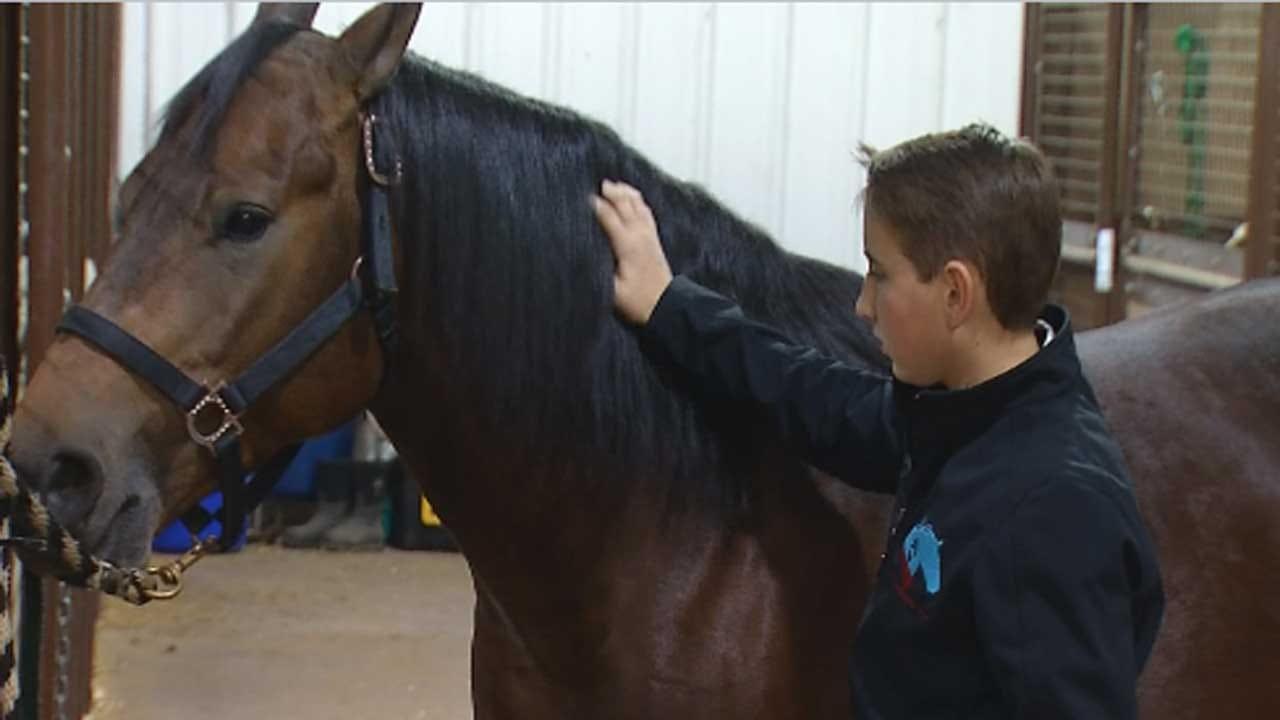 Edmond Teen Overcomes Heartbreak To Compete In Reining Championship