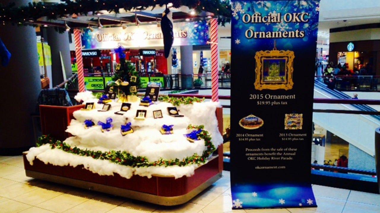 OKC Official 2015 Christmas Ornament Celebrates Museum Of Art