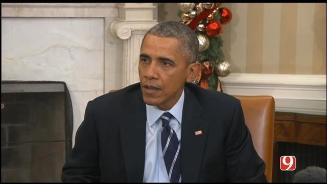 San Bernardino Shooting 'Possibly' Terrorist Related, Obama Says
